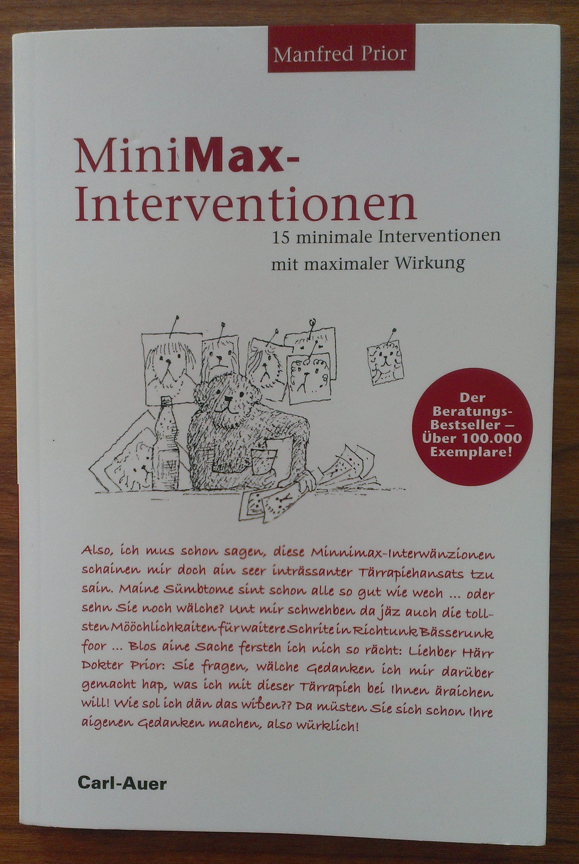 Abbildung MiniMax-Interventionen von Manfred Prior